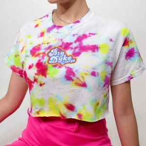 BIG DYKE EMBROIDERED ENERGY CROP TOP Omighty inspo